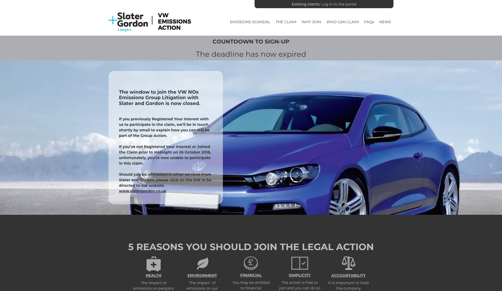 Screenshot_2019-05-30 VW Emissions Action - leading the UK's legal action against the emissions scandal